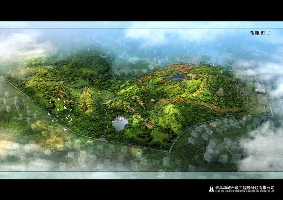 青岛崂山区金家岭山公园规划设计